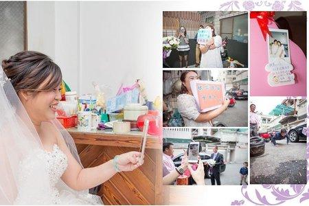 ☆台南幸福婚訊自主婚紗工作室☆結婚之喜の記録-[育昇&姵煾]情定關廟