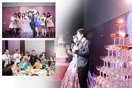 ☆幸福婚訊☆文定婚禮式の記録-[勳&婷]-東東永大幸福館