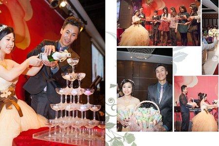 ☆台南幸福婚訊自助婚紗工作室☆文定婚禮式の記録-[晉茂&明秀]-大象寬庭