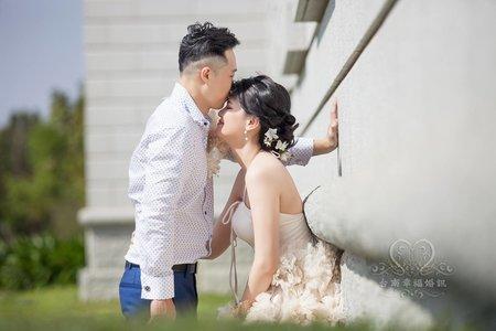 ☆台南幸福婚訊☆婚紗外拍-奇美博物館