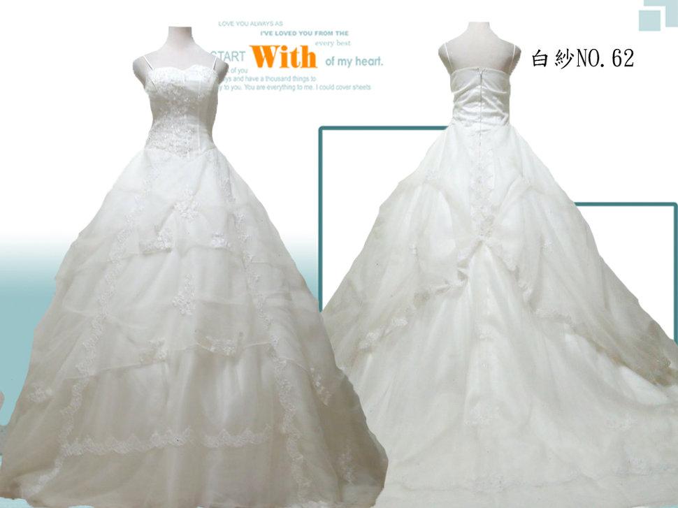白紗禮服出租 - 婚禮新娘秘書菁菁《結婚吧》