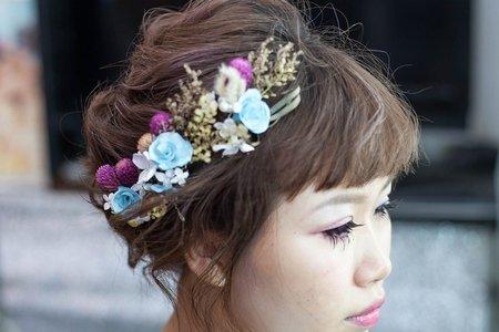 (台北-台南)短髮造型新秘
