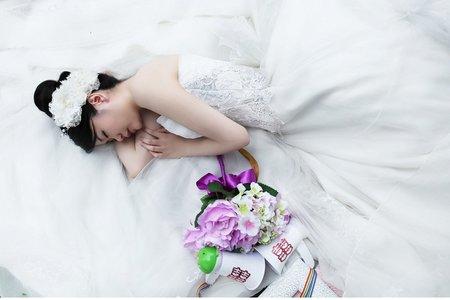 婚紗拍攝造型新秘