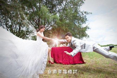 ☆台南幸福婚訊☆漂浮婚紗☆旅行結婚式の写真☆