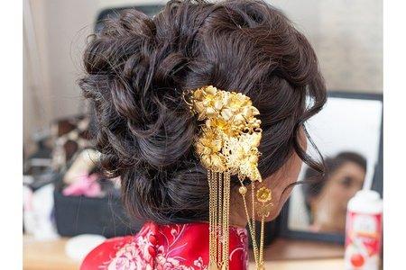 婚禮新娘秘書菁菁全省到府服務(台北-新莊翰品酒店)結婚新娘秘書服務