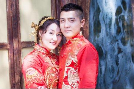 婚禮新娘秘書菁菁全省到府服務(台南-秀禾服婚紗照)結婚新娘秘書服務