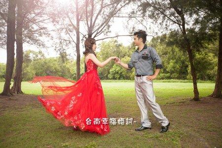 ☆台南幸福婚訊☆村&瑜☆旅行結婚式の写真☆