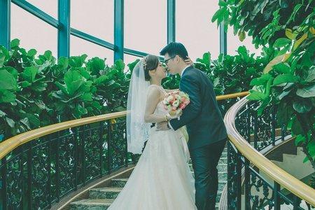 Wendy&Charlie 阿嬤好開心的婚禮 揚昇高球場