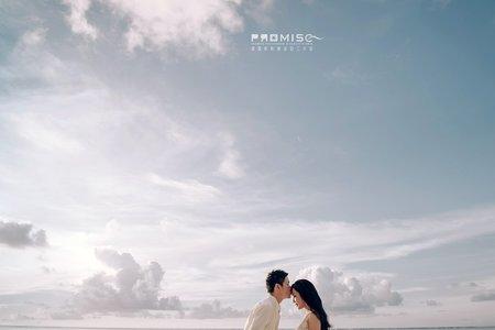 關島超美的夕陽 超美的藍天 Alan作品