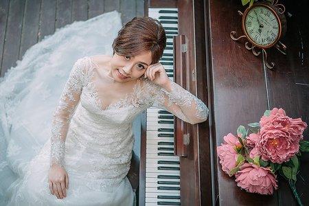 自助婚紗 婚紗攝影 淡水
