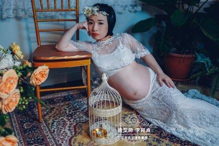 孕婦寫真/清新白