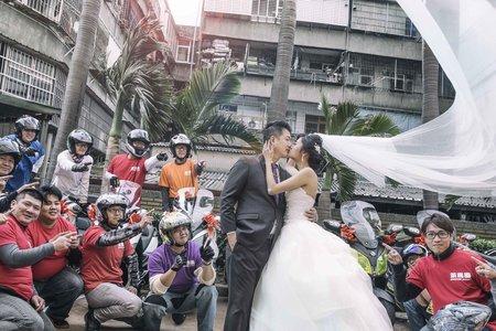 耀升&俐伶訂結同天 婚禮紀實