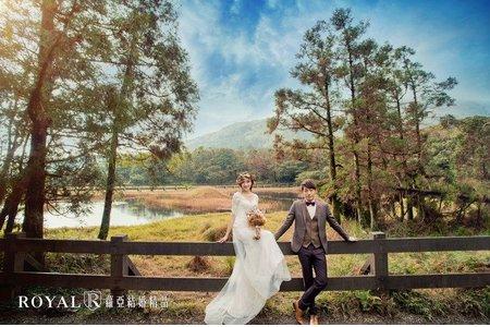 蘿亞主題婚紗攝影【怦然心動】