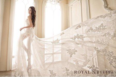 【蘿亞婚紗禮服】白紗
