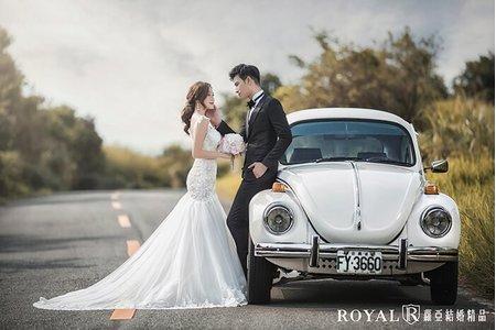 蘿亞主題婚紗攝影【向著幸福】
