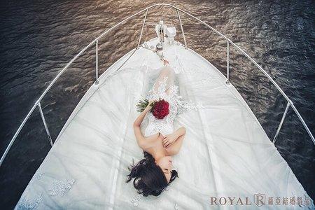 【震群&彥鋮】遊艇婚紗