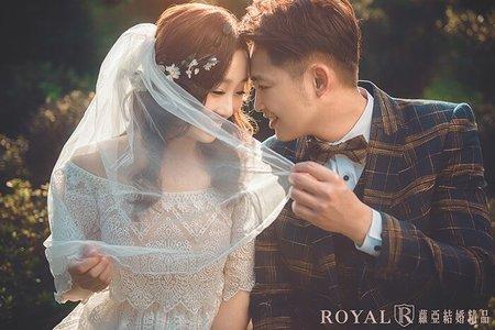 清新感婚紗 陽明山冷水坑x花卉試驗中心