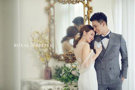 韓式婚紗|大屯莊園 蘿亞主題婚紗攝影【經典韓風】