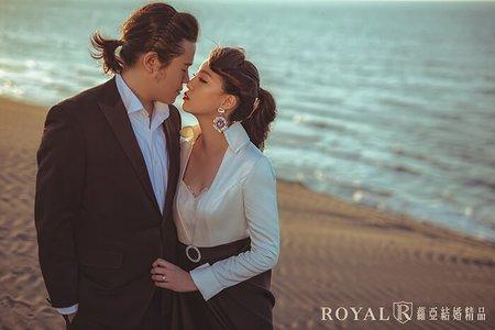 創意婚紗 竹圍海灘