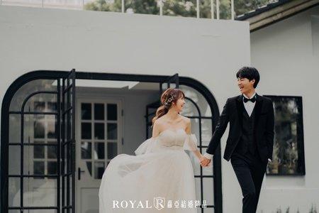 清新婚紗|拱北殿|ATTIC80【 You&Me 】蘿亞主題婚紗攝影