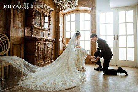 韓式婚紗|棚內婚紗【蘿亞攝影棚 客照】