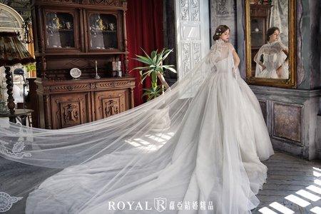 〔蘿亞婚紗禮服〕白紗