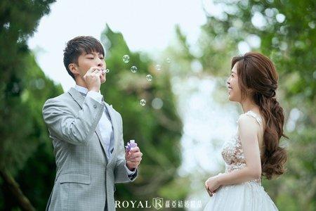 韓式婚紗 花卉試驗中心x林安泰古厝