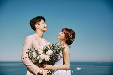 美式婚紗x創意甜美 潮境公園|自然水博物館|迪化街