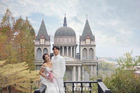 美式婚紗x時尚浪漫-Alice'sky x 蘿亞攝影棚