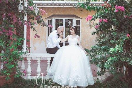 自然互動感婚紗照-自助婚紗