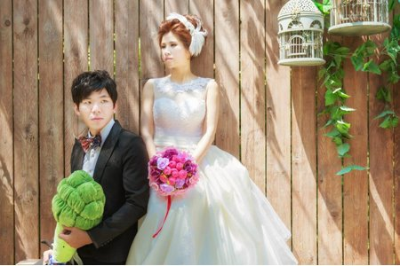 韓系彩妝造型自助婚紗系列