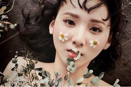 個人寫真-日系花朵女孩