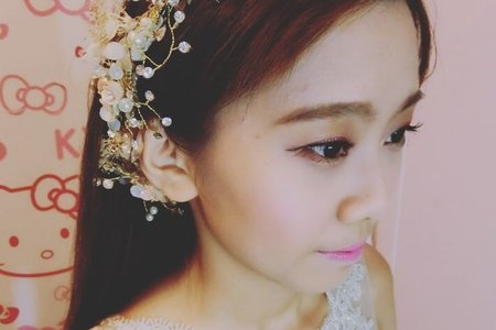 韓系彩妝+日系髮型