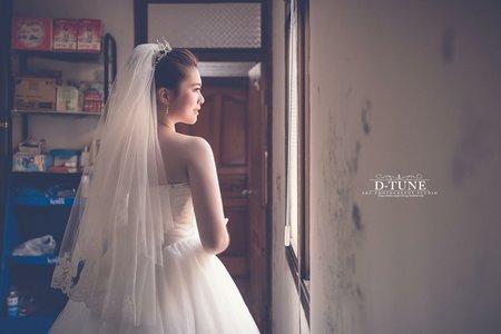 婚禮服務/日系丸子頭/韓系低馬尾