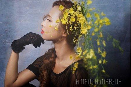 復古風/鮮花