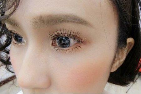 細緻眼妝+眼型調整