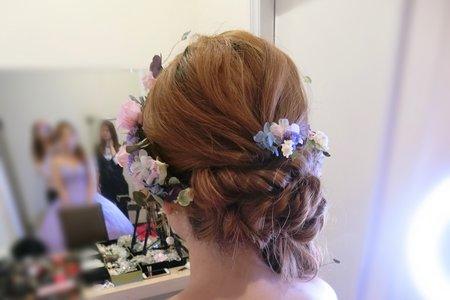 結婚婚宴造型乾燥花