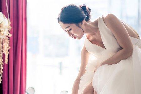 日韓系新娘造型仙仙風