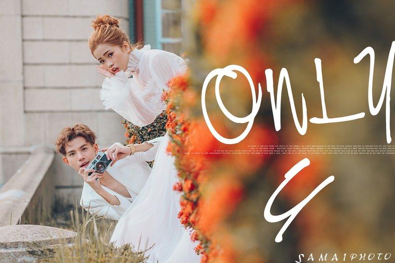 婚紗造型服務作品
