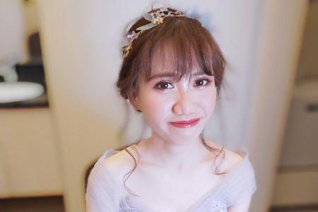 台中新娘秘書浪漫甜美簡約歐風
