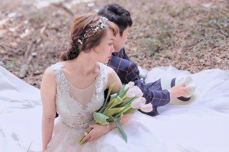自然系婚紗照