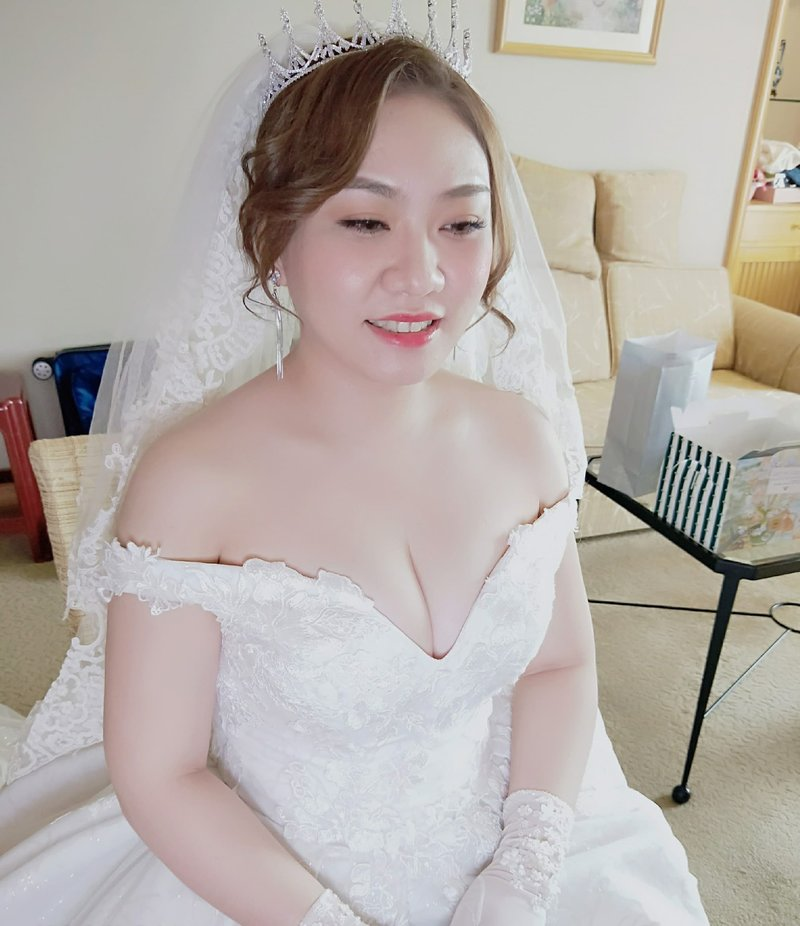 台南新娘秘書Manman曼曼造型