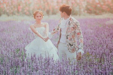 童曼故事婚紗--薰衣草