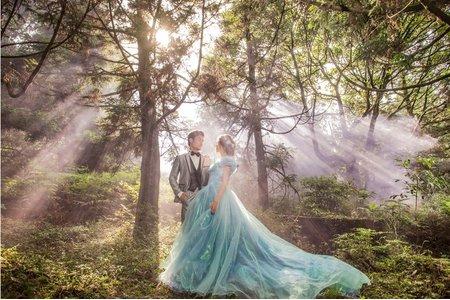 幸福感婚紗~森林系列