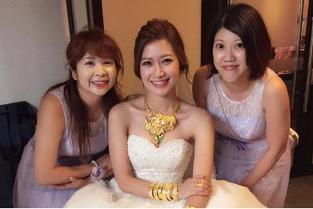 香港新人結婚進場造型