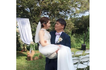 歐美名媛風短髮新娘