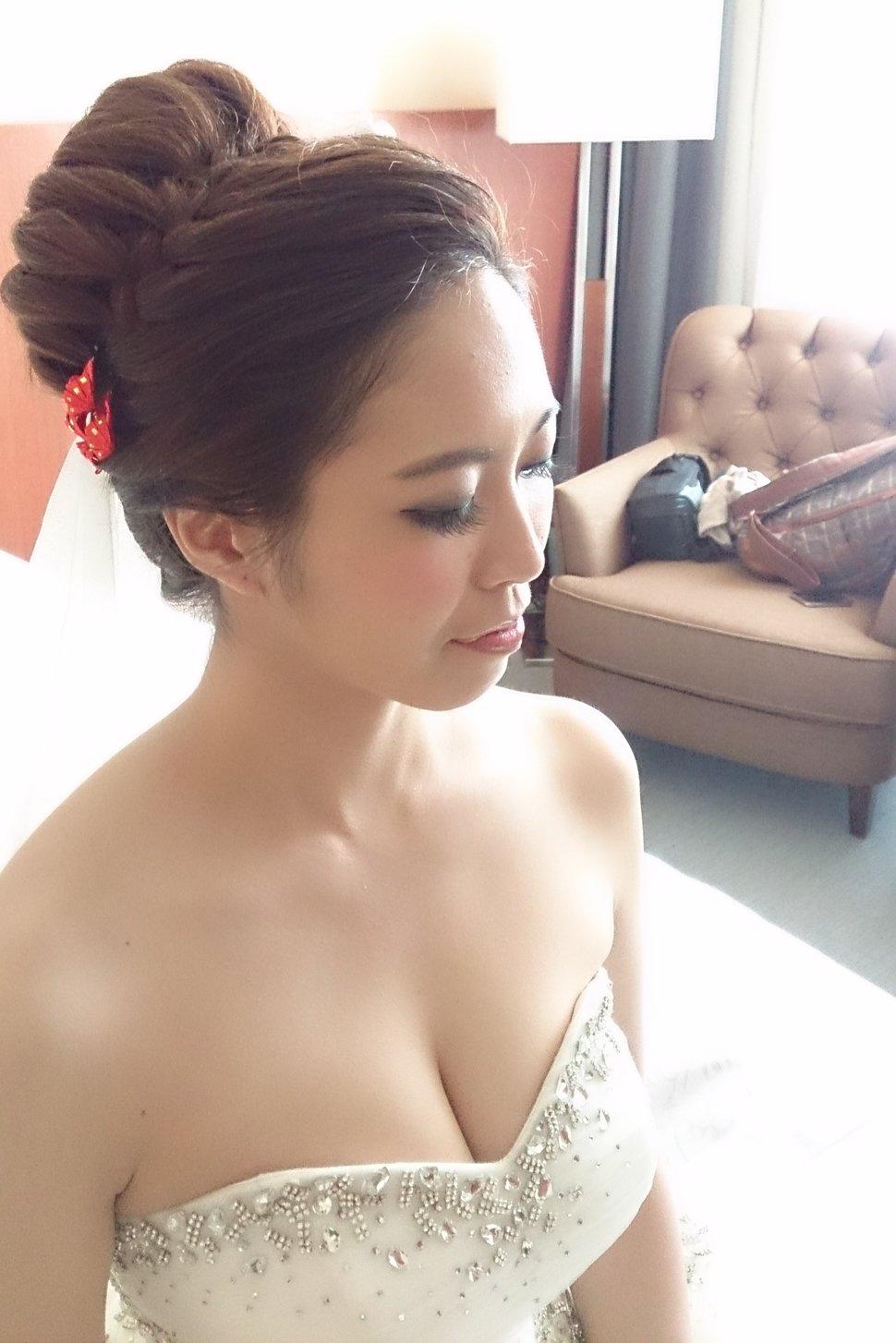 ❤️編髮式盤髮(編號:31799) - 新秘Heidi's style(新北市) - 結婚吧
