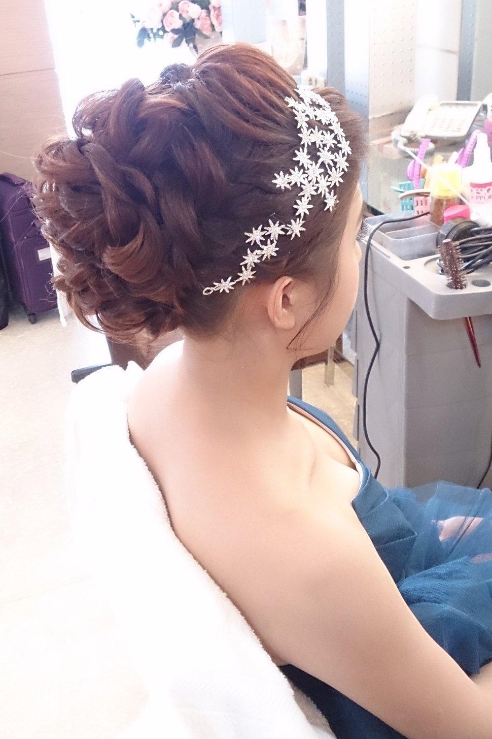 ❤️編髮式盤髮(編號:31800) - 新秘Heidi's style(新北市) - 結婚吧
