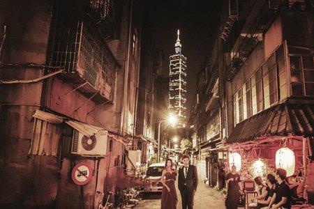 在地婚紗系列~大城小愛,穿梭台北城
