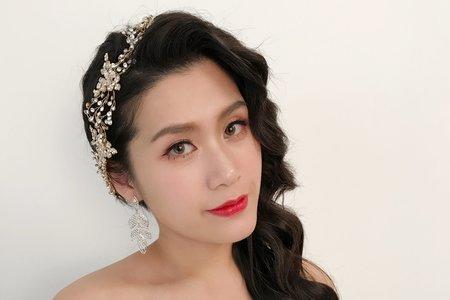 Nina makeup新秘妮娜 彩妝造型-混血歐美妝容